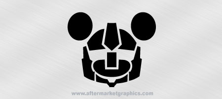Transformers Mickey Decal