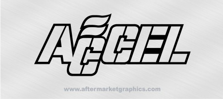 Accel Performance Decals 01 - Pair