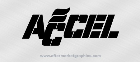 Accel Performance Decals 02 - Pair