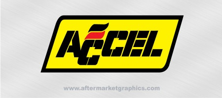 Accel Performance Decals 03 - Pair