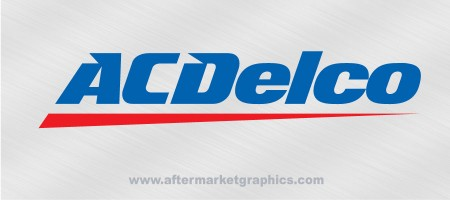 ACDelco Performance Decals - Pair