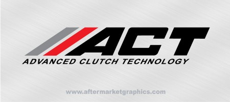 ACT Advanced Clutch Technology Decals 01 - Pair