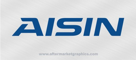 AISIN Performance Decals - Pair