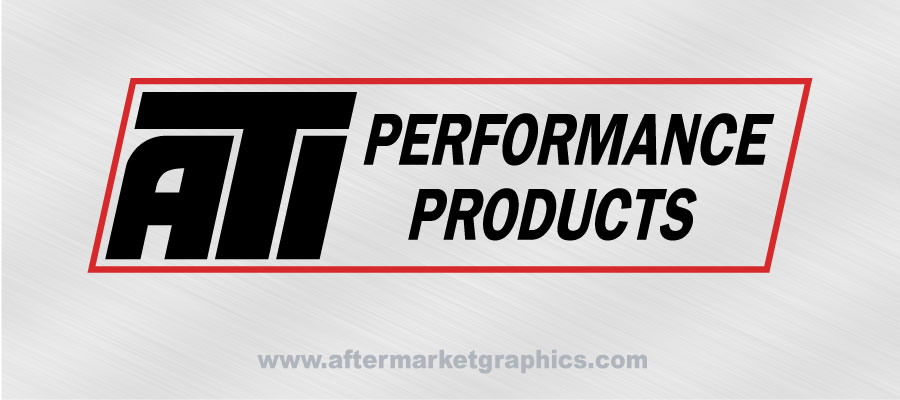 ATI Performance Products Decals- Pair