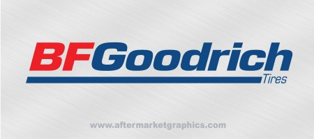 BFGoodrich Tires Decals - Pair