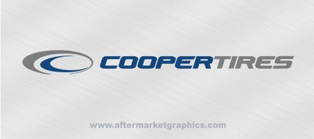 Cooper Tires Decals 03 - Pair