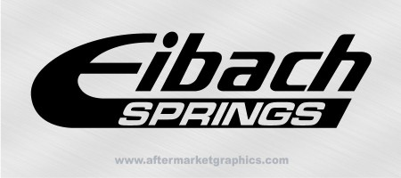 Eibach Springs Decals - Pair