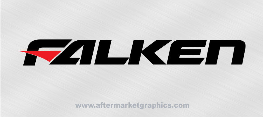 Falken tires decals pair