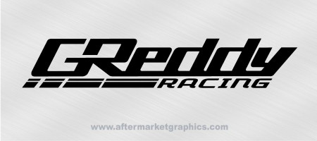 Greddy Racing Decals - Pair
