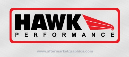 Hawk Performance Brakes Decals - Pair