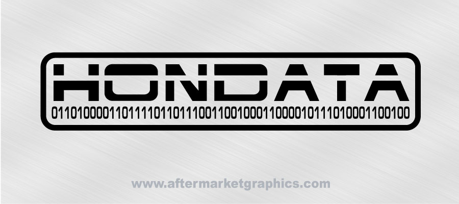Hondata Decals - Pair