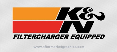 K&N Performance Filters Decals - Pair