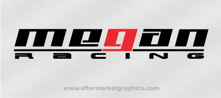 Megan Racing Decals - Pair