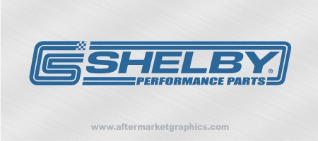 Shelby Performance Decals - Pair