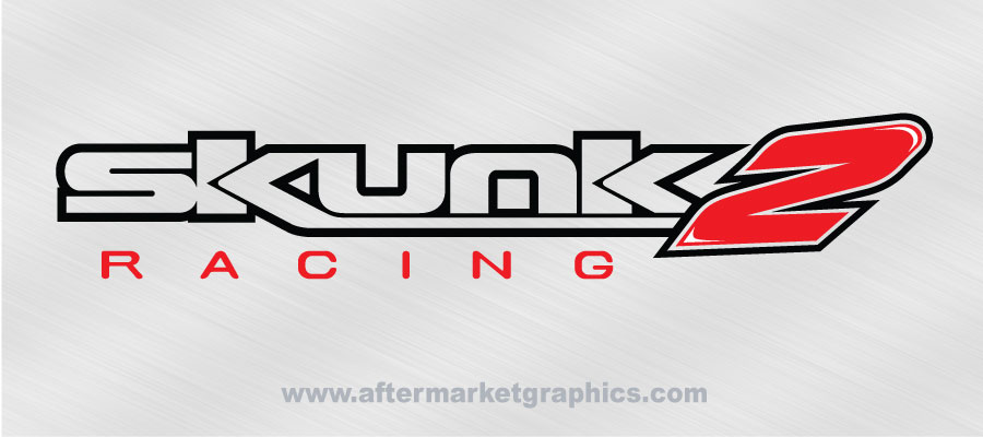 Skunk2 Racing outline Decals - Pair
