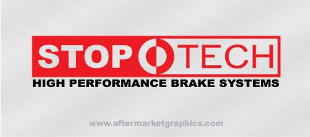 StopTech Performance Brakes Decals - Pair