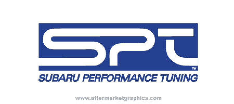 Subaru Performance Tuning Decals - Pair