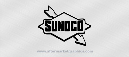 Sunoco Fuels Decals - Pair