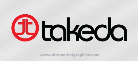 Takeda Racing Decals - Pair