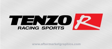 Tenzo R Racing Sports Decals - Pair