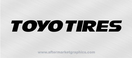 Toyo Tires Decals 01 - Pair