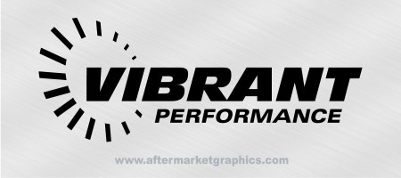 Vibrant Performance Decals - Pair