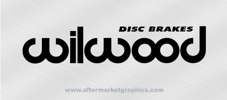 Wilwood Brakes Decals - Pair