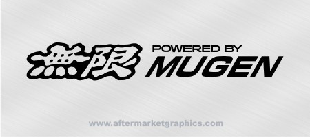 Powered By Mugen Decal