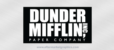 Dunder Mifflin Decal