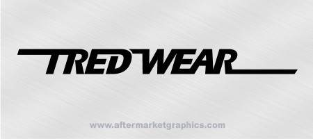Tredwear Tires Decals - Pair