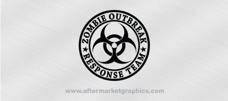 Zombie Outbreak Response Team Biohazard Decal
