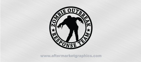 Zombie Outbreak Response Team Walker Decal